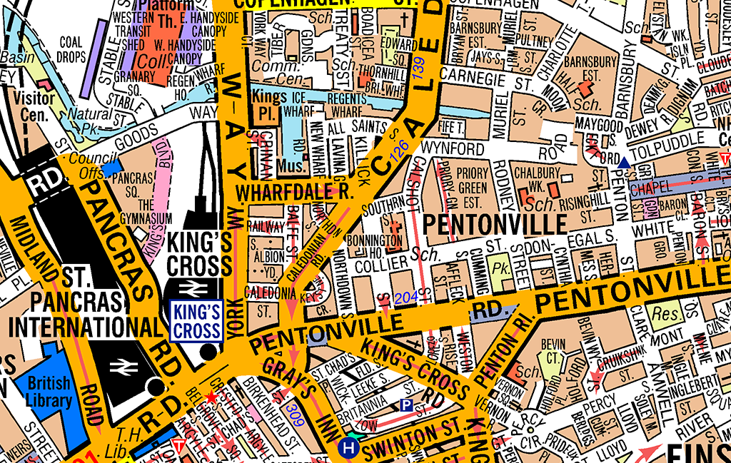 MapSherpa – Map Of Central London With Tourist Attractions